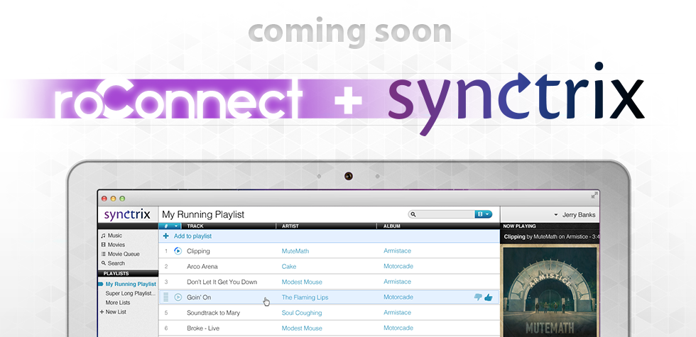 roConnect & Synctrix partner up streamline the cloud.